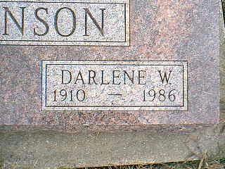 JOHNSON, DARLENE W. - Taylor County, Iowa | DARLENE W. JOHNSON