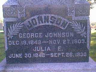 JOHNSON, GEORGE - Taylor County, Iowa | GEORGE JOHNSON