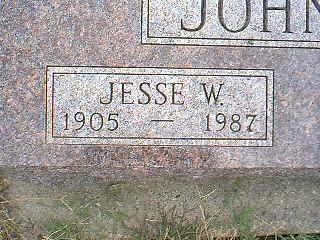 JOHNSON, JESSE W. - Taylor County, Iowa | JESSE W. JOHNSON