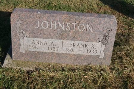 ROSS JOHNSTON, ANNA AUDREY - Taylor County, Iowa | ANNA AUDREY ROSS JOHNSTON