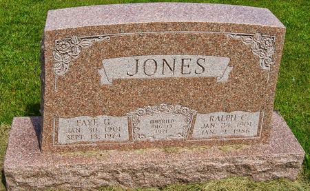 DANKWARDT JONES, FAYE GENEVIEVE - Taylor County, Iowa   FAYE GENEVIEVE DANKWARDT JONES