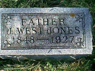JONES, J. WEST - Taylor County, Iowa   J. WEST JONES