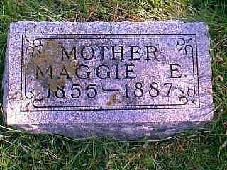 JONES, MAGGIE E. - Taylor County, Iowa | MAGGIE E. JONES