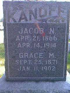 KANOFF, JACOB N. - Taylor County, Iowa | JACOB N. KANOFF