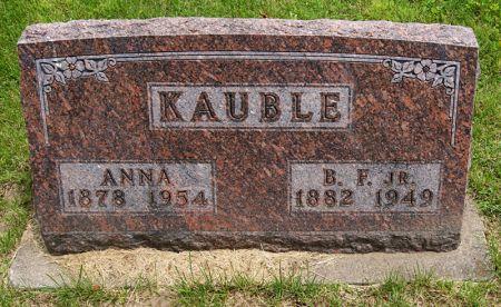 KAUBLE, JR., BENJAMIN FRANKLIN