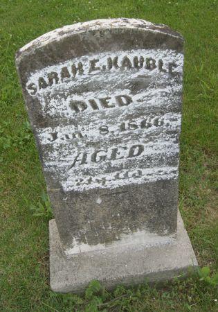 KAUBLE, SARAH ELIZABETH - Taylor County, Iowa   SARAH ELIZABETH KAUBLE