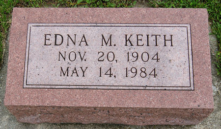 HEATHERINGTON KEITH, EDNA MAE - Taylor County, Iowa | EDNA MAE HEATHERINGTON KEITH