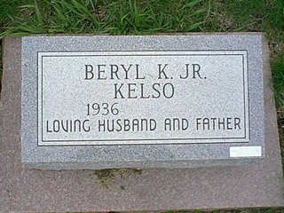 KELSO, BERYL - Taylor County, Iowa | BERYL KELSO