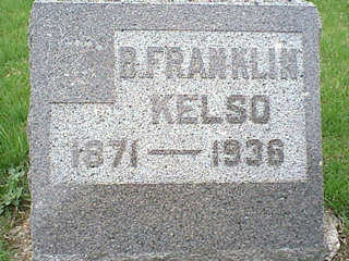 KELSO, B. FRANKLIN - Taylor County, Iowa | B. FRANKLIN KELSO