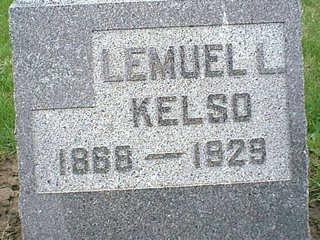 KELSO, LEMUEL - Taylor County, Iowa   LEMUEL KELSO
