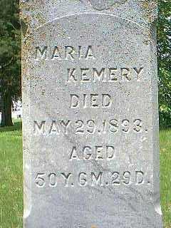 KEMERY, MARIA - Taylor County, Iowa | MARIA KEMERY