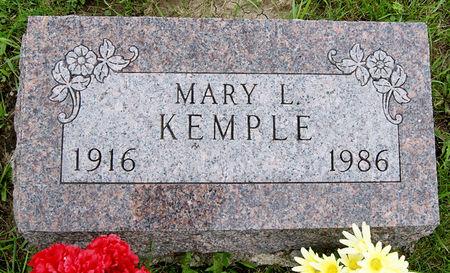 KEMPLE, MARY LORETTA - Taylor County, Iowa | MARY LORETTA KEMPLE