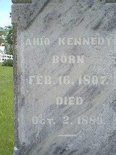 KENNEDY, AHIO - Taylor County, Iowa   AHIO KENNEDY