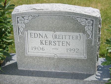 SMITH KERSTEN, EDNA VIOLA - Taylor County, Iowa | EDNA VIOLA SMITH KERSTEN