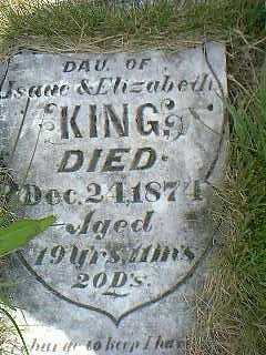 KING, BETSEY - Taylor County, Iowa | BETSEY KING