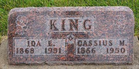 SHARP KING, IDA ELLEN - Taylor County, Iowa   IDA ELLEN SHARP KING
