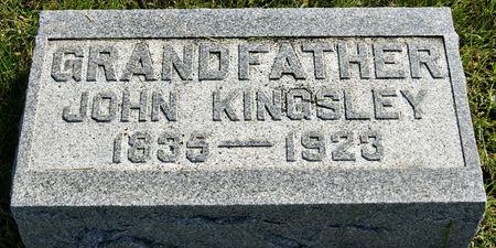 KINGSLEY, JOHN - Taylor County, Iowa | JOHN KINGSLEY
