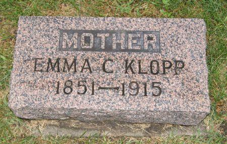 CONNER KLOPP, EMMA CAROLINE - Taylor County, Iowa | EMMA CAROLINE CONNER KLOPP