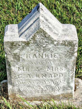 KNAPP, FRANKIE - Taylor County, Iowa | FRANKIE KNAPP