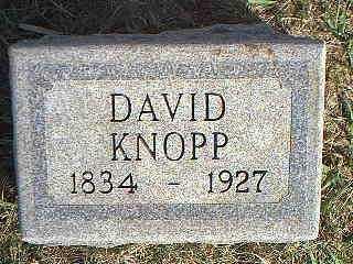 KNOPP, DAVID - Taylor County, Iowa | DAVID KNOPP