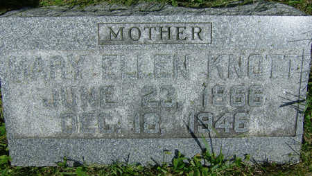 KNOTT, MARY ELLEN - Taylor County, Iowa | MARY ELLEN KNOTT