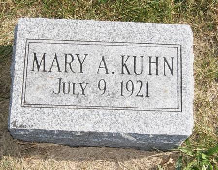 KUHN, MARY ALICE - Taylor County, Iowa | MARY ALICE KUHN