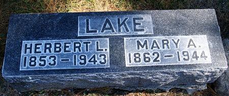LAKE, MARY ANN - Taylor County, Iowa | MARY ANN LAKE