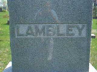 LAMBLEY, FAMILY - Taylor County, Iowa | FAMILY LAMBLEY