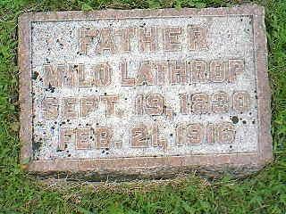 LATHROP, MILO - Taylor County, Iowa | MILO LATHROP
