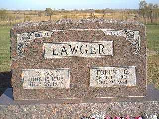 LAWGER, NEVA - Taylor County, Iowa   NEVA LAWGER