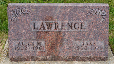 MURRAY LAWRENCE, ALICE  MAE - Taylor County, Iowa | ALICE  MAE MURRAY LAWRENCE