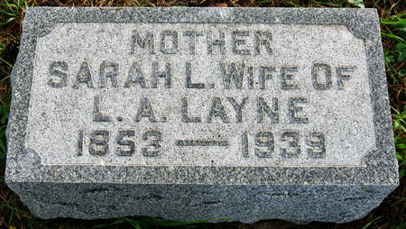 LAYNE, SARAH LUCINDA
