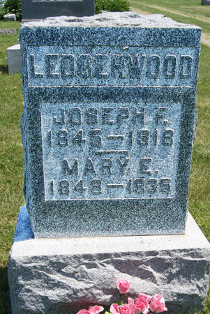 LEDGERWOOD, MARY ELIZABETH - Taylor County, Iowa | MARY ELIZABETH LEDGERWOOD