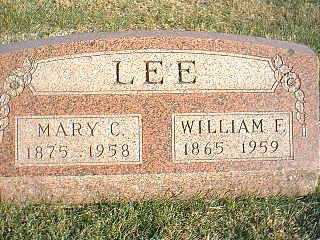 LEE, MARY C. - Taylor County, Iowa | MARY C. LEE