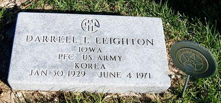 LEIGHTON, DARRELL LEONARD - Taylor County, Iowa | DARRELL LEONARD LEIGHTON