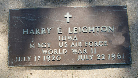 LEIGHTON, HARRY EDWARD - Taylor County, Iowa | HARRY EDWARD LEIGHTON