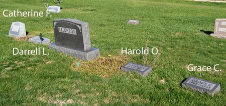 LEIGHTON, HAROLD OSBORN, FAMILY PLOT OF - Taylor County, Iowa | HAROLD OSBORN, FAMILY PLOT OF LEIGHTON