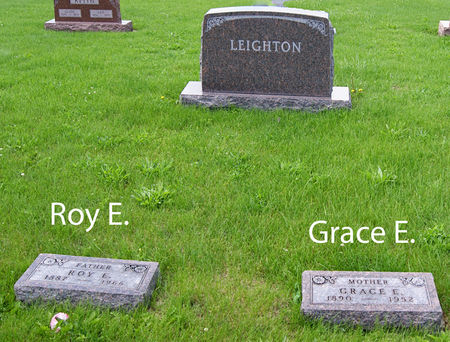 LEIGHTON, ROY ELLIS, FAMILY PLOT OF - Taylor County, Iowa | ROY ELLIS, FAMILY PLOT OF LEIGHTON