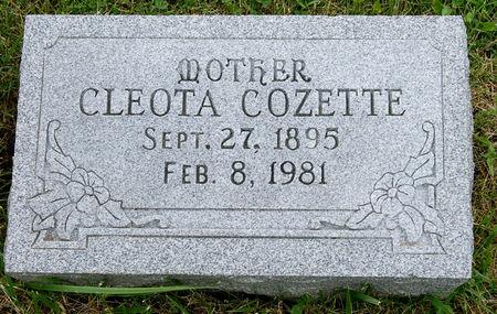 BOWEN LEPLEY, CLEOTA COZETTE - Taylor County, Iowa | CLEOTA COZETTE BOWEN LEPLEY
