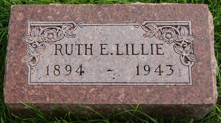 WILLIAMS LILLIE, RUTH ELLEN - Taylor County, Iowa   RUTH ELLEN WILLIAMS LILLIE