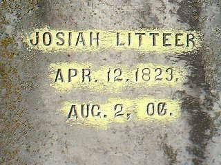 LITTEER, JOSIAH - Taylor County, Iowa | JOSIAH LITTEER
