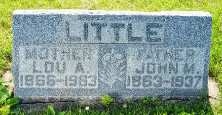 GILMORE LITTLE, LOU ALICE - Taylor County, Iowa | LOU ALICE GILMORE LITTLE