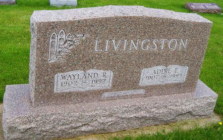 STOOPS LIVINGSTON, ADDIE ELIZABETH - Taylor County, Iowa | ADDIE ELIZABETH STOOPS LIVINGSTON