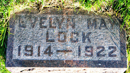 LOCK, EVELYN MAY - Taylor County, Iowa   EVELYN MAY LOCK