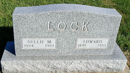 LOCK, NELLIE MAY - Taylor County, Iowa | NELLIE MAY LOCK