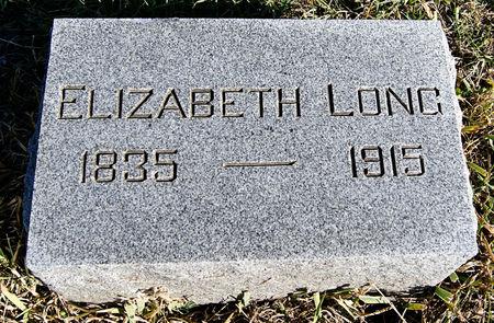 CUNNING LONG, ELIZABETH - Taylor County, Iowa   ELIZABETH CUNNING LONG