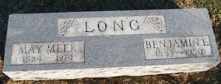LONG, BENJAMIN EARL - Taylor County, Iowa   BENJAMIN EARL LONG