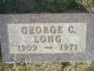 LONG, GEORGE C. - Taylor County, Iowa | GEORGE C. LONG