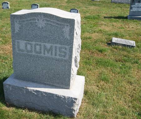 LOOMIS, GROVER HIRAM, FAMILLY STONE OF - Taylor County, Iowa | GROVER HIRAM, FAMILLY STONE OF LOOMIS