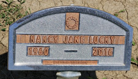 LUCKY, NANCY JANE - Taylor County, Iowa | NANCY JANE LUCKY